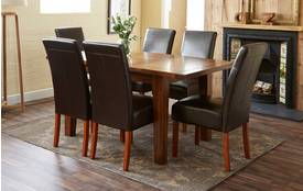 Denaby Small Extending Table & Set of 4 Ariana Chairs Denaby
