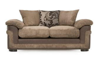 2 Seater Pillow Back Deluxe Sofa Bed Eternal