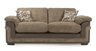 Destiny 3 Seater Formal Back Sofa