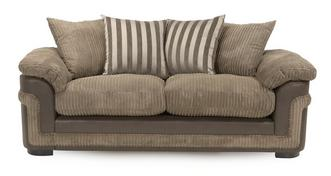 Destiny 3 Seater Pillow Back Sofa