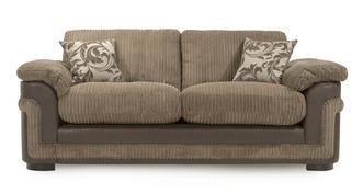 Destiny 3 Seater Formal Back Deluxe Sofa Bed