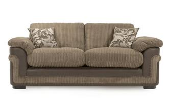 3 Seater Formal Back Deluxe Sofa Bed Eternal