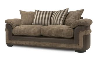 3 Seater Pillow Back Deluxe Sofa Bed Eternal