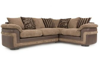 Left Hand Facing Pillow Back 2 Seater Corner Sofa Eternal