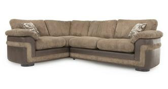 Destiny Right Hand Facing Formal Back 2 Seater Corner Deluxe Sofa Bed