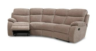 Devon 4 Seater Curved Manual Recliner