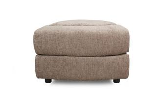 Wedge Shaped Storage Footstool
