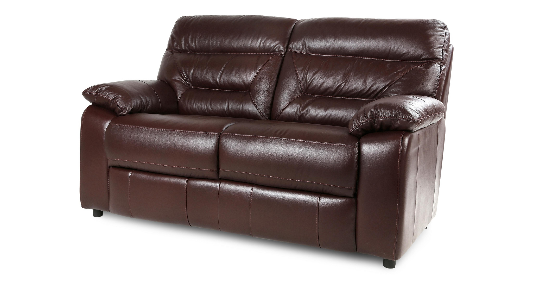 Dfs Active Settee Merlot Colour Couch 2 Seater Suite