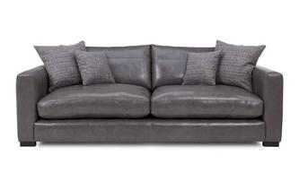 Leather Large Sofa Dillon Leather