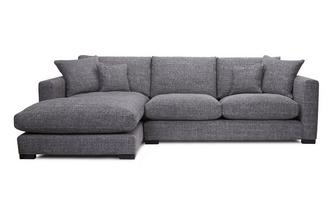Left Hand Facing Small Chaise End Sofa Dillon