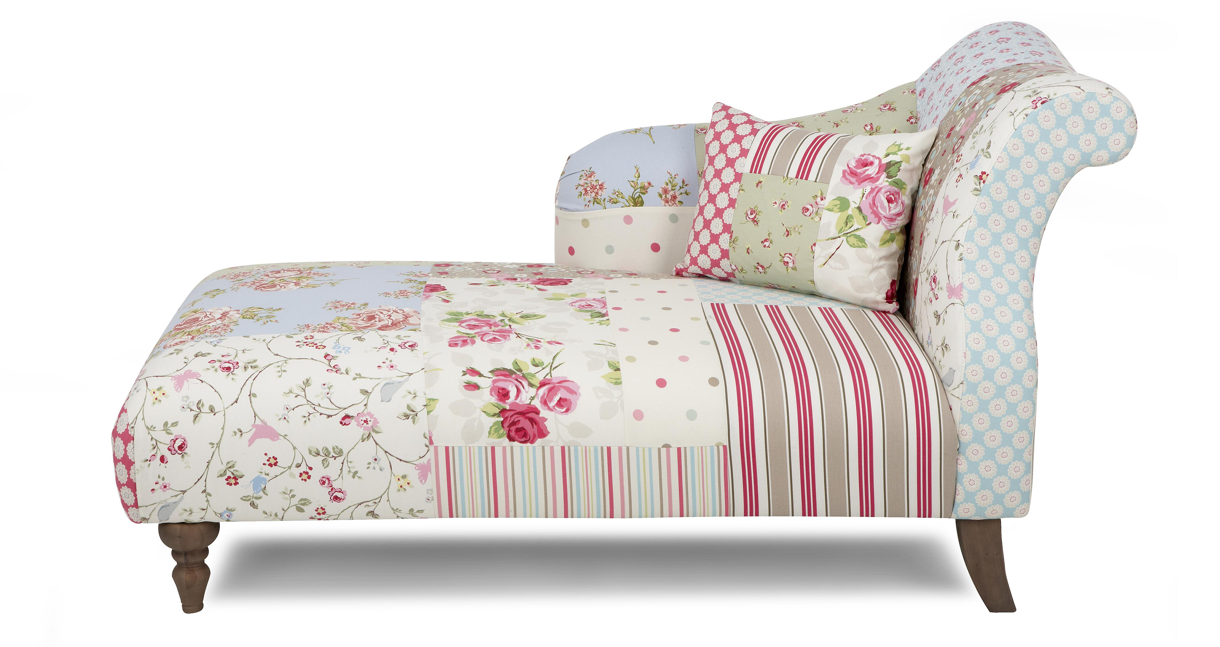 Doll left hand facing chaise longue dfs for Chaise longue dfs
