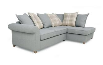 Left Hand Facing Arm Pillow Back Corner Sofa Dorset