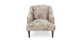 Dream Script Accent Chair