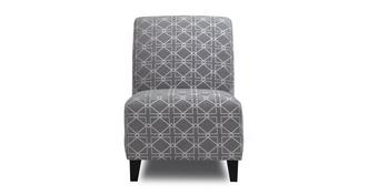 Dusky Pattern Accent Chair