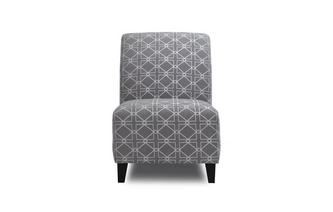 Pattern Accent Chair Dusky Pattern