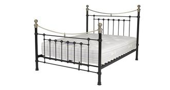 Ebony Double (4 ft 6) Bed Frame