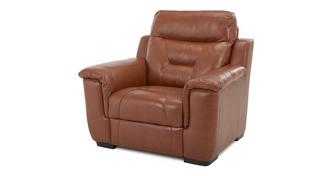 Editor Leather and Leather Look Armchair