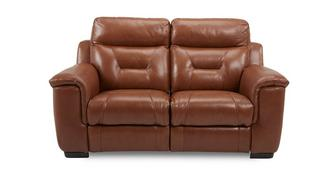 Editor Leather and Leather Look 2 Seater Manual Recliner