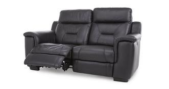 Editor Leather 2 Seater Electric Recliner