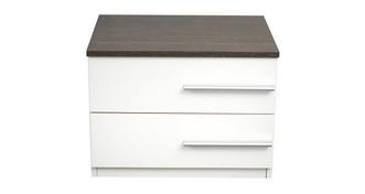 Elara Small Left Hand Facing Bedside Chest