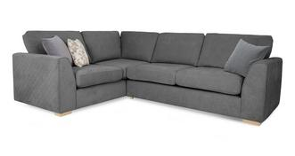 Eleanor Right Hand Facing 2 Seater Corner Sofa
