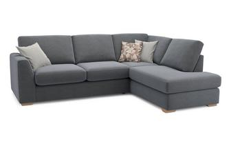Left Arm Facing Open End Corner Sofa Sherbet