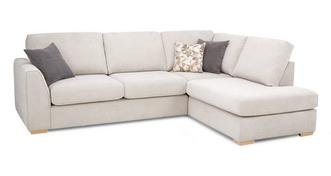 Eleanor Left Arm Facing Open End Corner Sofa