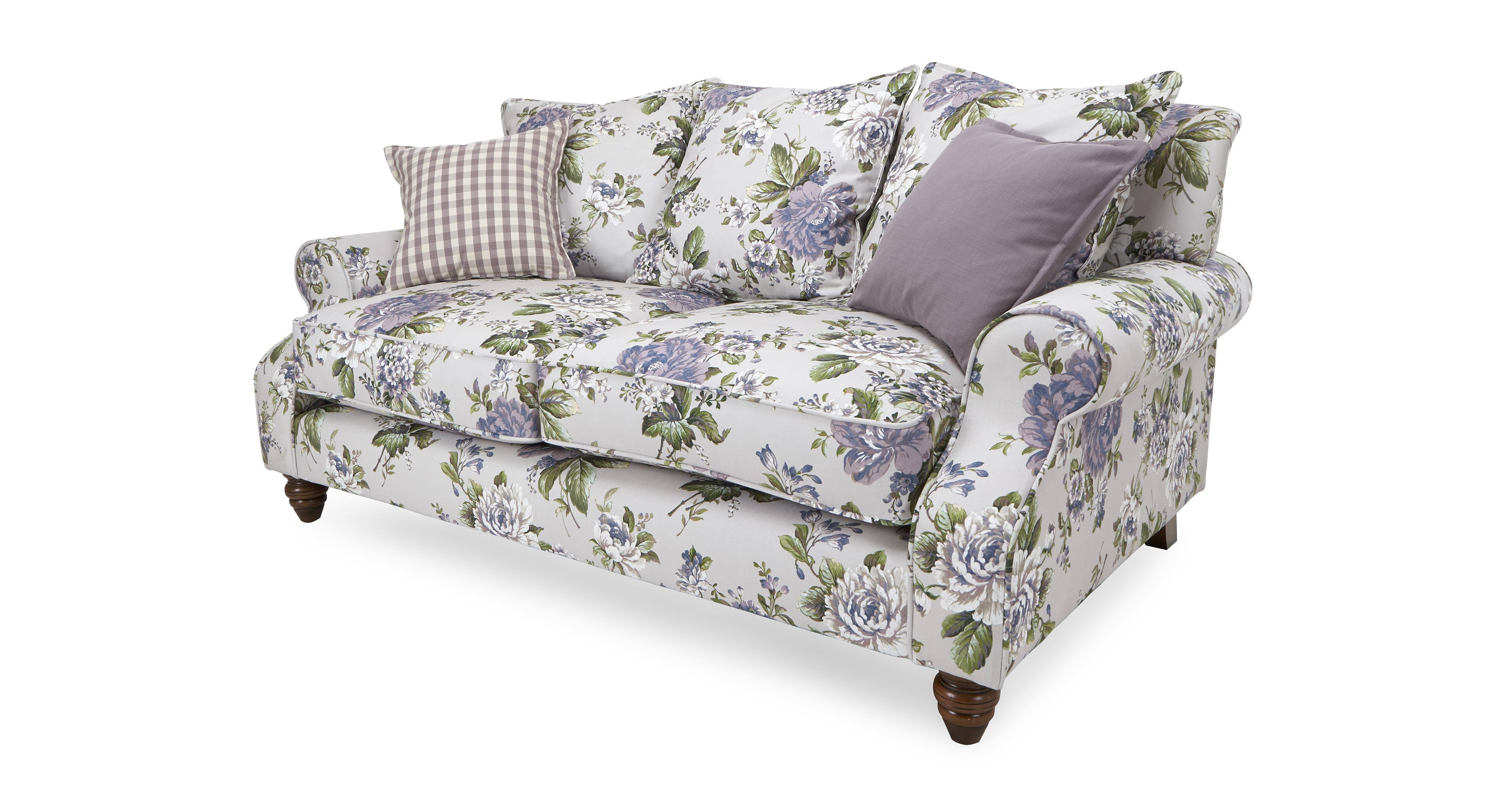Dfs Purple Flower Sofa