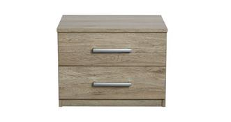 Encore 2 Drawer Bedside Chest