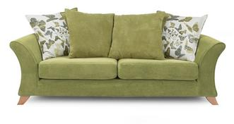 Escape 3 Seater Pillow Back Sofa