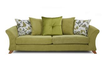 4 Seater Pillow Back Sofa Escape