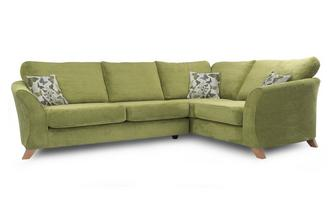 Left Hand Facing 2 Piece Formal Back Corner Sofa Escape