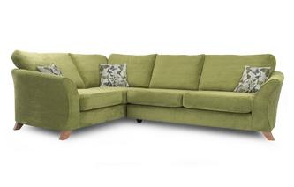 Right Hand Facing 2 Piece Formal Back Corner Sofa Escape