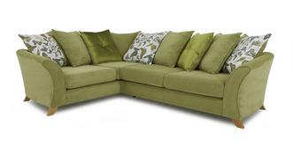 Escape Right Hand Facing 2 Piece Pillow Back Corner Sofa