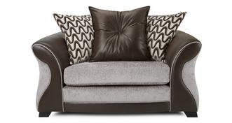 Eternity Pillow Back Cuddler Sofa