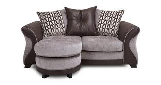 Eternity 2 Seater Pillow Back Lounger