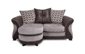 2 Seater Pillow Back Lounger Eternity