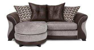 Eternity 3 Seater Pillow Back Lounger