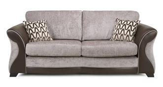 Eternity 3 Seater Formal Back Deluxe Sofa Bed