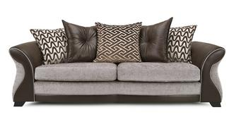 Eternity 4 Seater Pillow Back Sofa