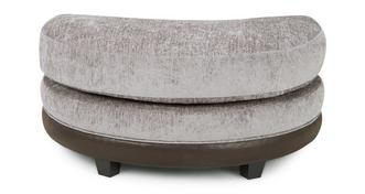 Eternity Half Moon Footstool