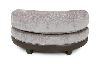 Half Moon Footstool Eternity