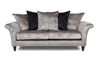 3 Seater Pillow Back Sofa Krystal