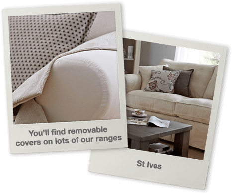 You'll find removable covers on lots of our ranges