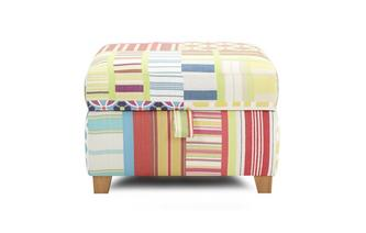 Patch Storage Footstool