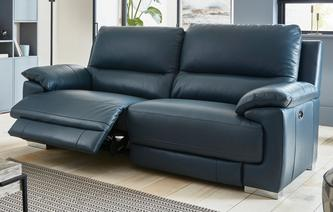 Falcon 3 Seater Electric USB Recliner New Club