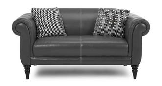 Fame Leather Midi Sofa