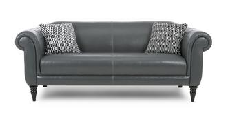 Fame Leather Maxi Sofa