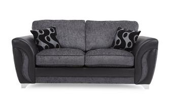 2 Seater Formal Back Sofa Bed Talia