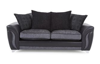 3 Seater Pillow Back Sofa Bed Talia